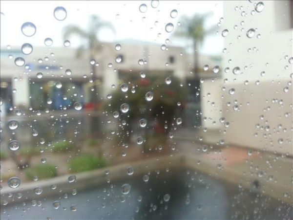 Rain in Northwest Fresno <span class=meta>(KFSN Photo&#47; uReport)</span>