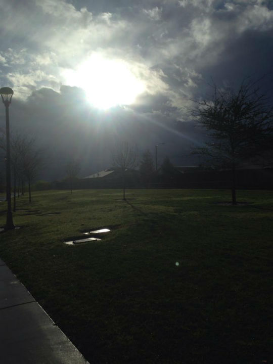 Friday morning in Hanford <span class=meta>(KFSN Photo&#47; Facebook &#47; Erica M. Banegas)</span>