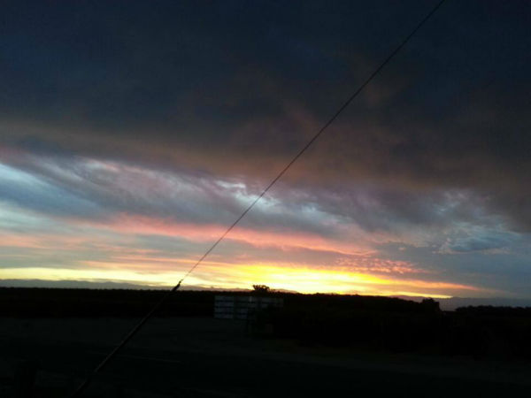 Beautiful morning sunrise from Sanger <span class=meta>(KFSN Photo&#47; Facebook &#47; Re N? Ne Rogers)</span>