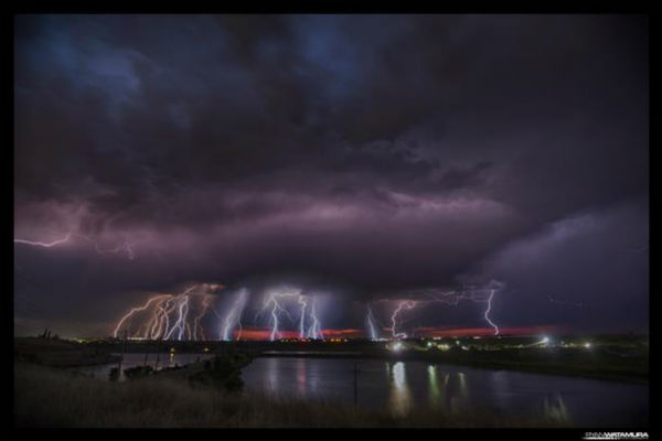 "<div class=""meta image-caption""><div class=""origin-logo origin-image ""><span></span></div><span class=""caption-text"">Shot from North Fresno looking west. Multiple frames of lightning stacked. (KFSN Photo/ uReport / Arumataw)</span></div>"