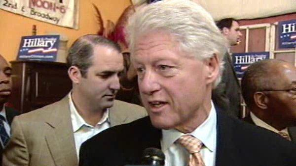 RAW: One-on-one question and answer with Bill Clinton