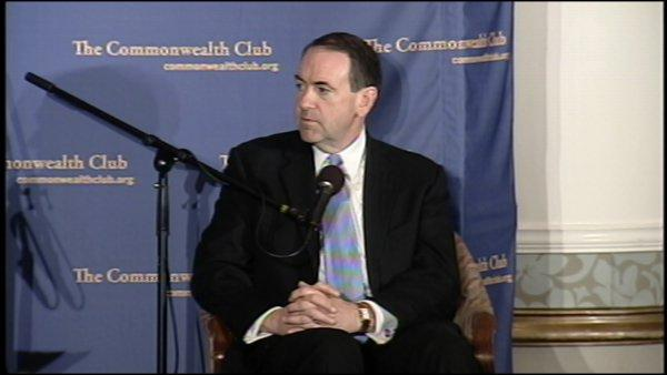 RAW: Huckabee at S.F. event (Pt. 2)