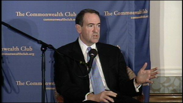 RAW: Huckabee at S.F. event (Pt. 7)