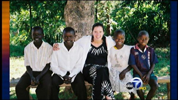Woman helping Kenyan orphans from afar