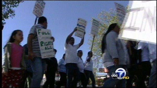Local march honors Cesar Chavez