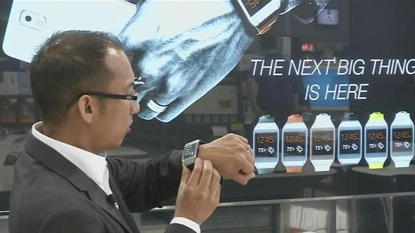 Samsung watch hits store shelves