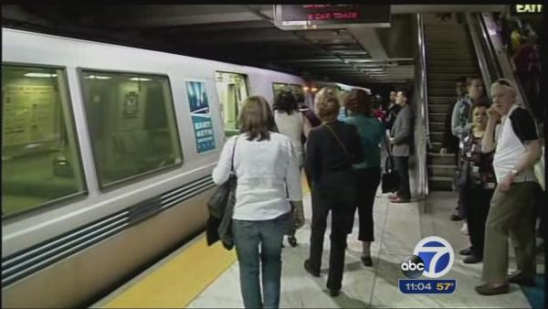 BART riders plan for rough commute