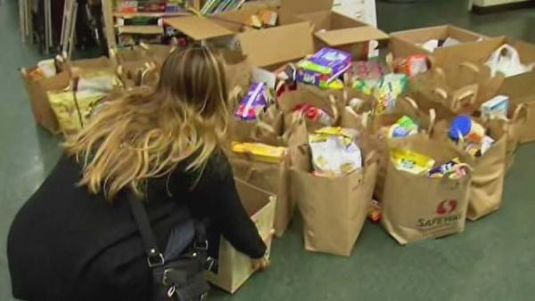 Bay Area people donate to storm victims