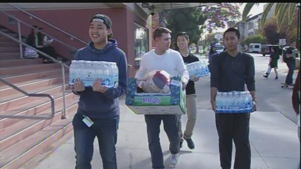 SJSU holds relief drive for survivors of typhoon