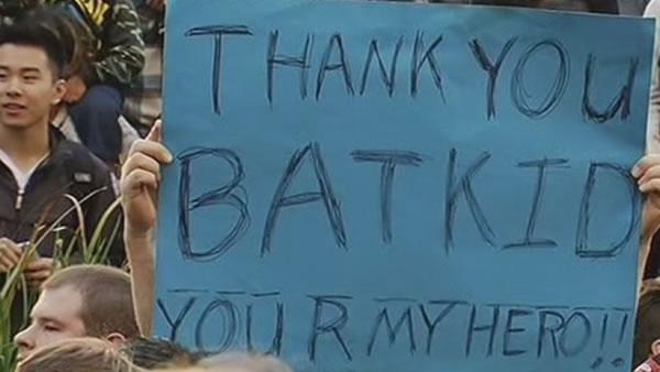 San Francisco rallies to make Batkid's day