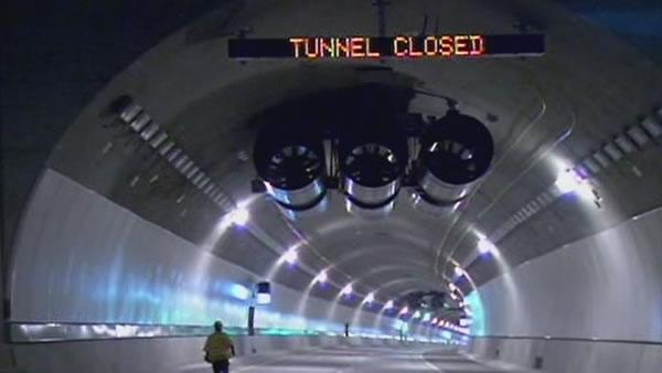 4th bore of Caldecott Tunnel prepares for opening