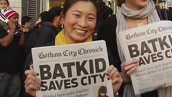 Batkid does wonders for San Francisco's image