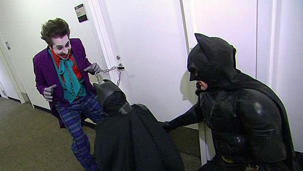 Batkid saves 'Pitbul'l on GMA, misses Obama