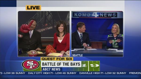 Battle of the Bays between ABC7 and KOMO