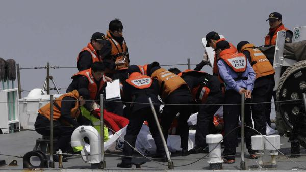 Sunken ferry death toll Climbs to 59