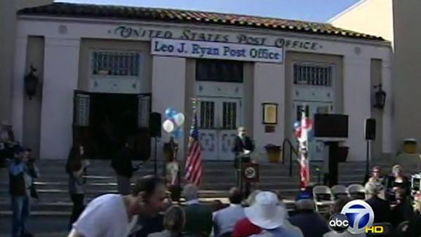 Leo Ryan honored in San Mateo