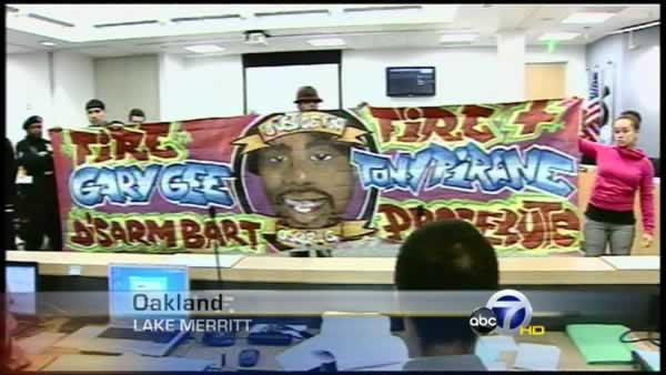 Protesters take over BART board meeting