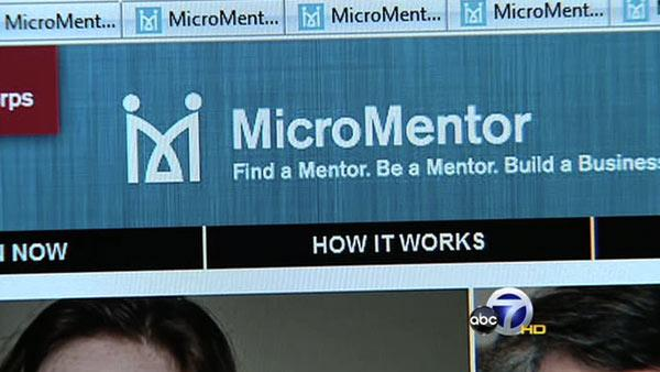Web site joins entrepreneurs with mentors