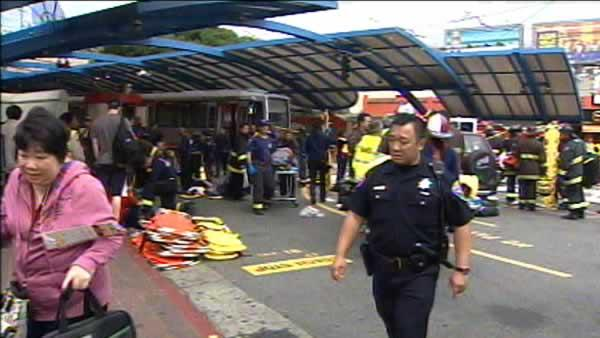 SF General on alert after Muni crash