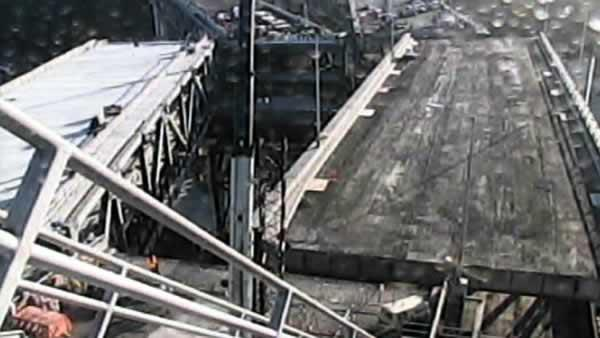 RAW VIDEO: Crews move chunk of Bay Bridge
