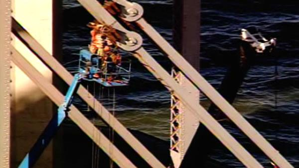RAW VIDEO: Bay Bridge repair work