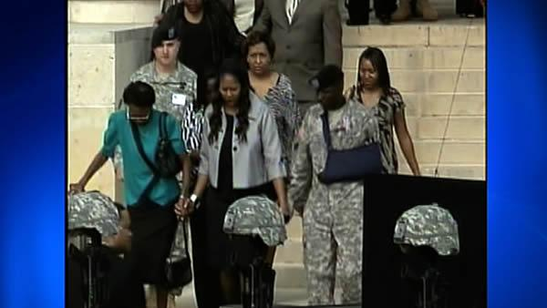 Military mourns Fort Hood soldiers