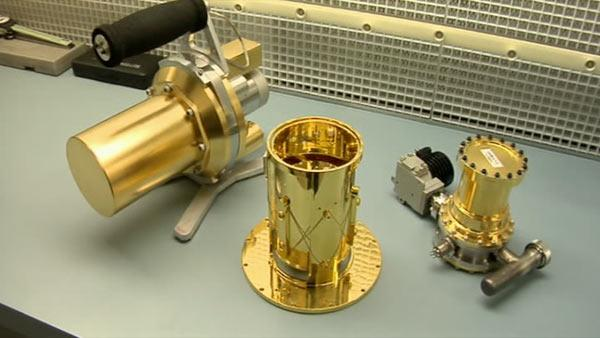 Mini radiation detector to be used to find nukes