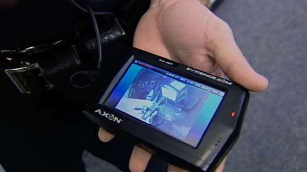 SJ police to carry small cameras on uniform