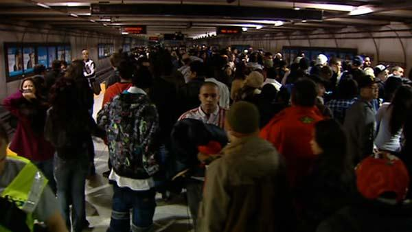 BART reports no arrests on New Year's Eve