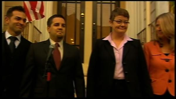Emotional testimony marks start of Prop 8 trial
