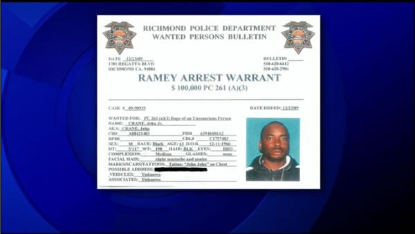 Police name new suspect in Richmond gang rape