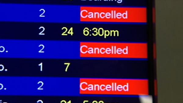 Southwest cancels dozens of flights