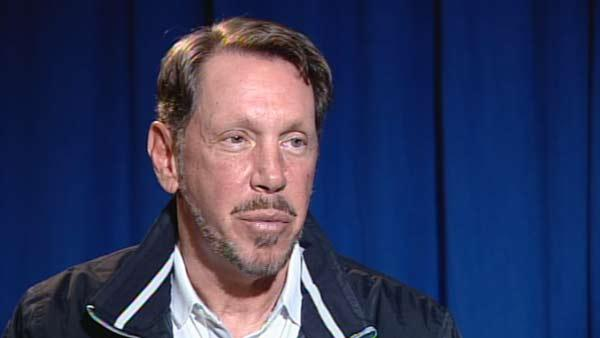 RAW VIDEO: Larry Ellison on America's Cup
