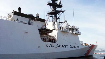 New Coast Guard cutter vessel arrives in Alameda