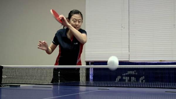Audience watches table tennis tourney on the web
