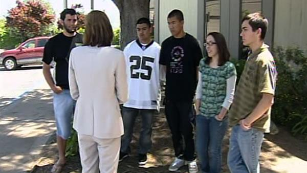 Live Oak students wear white shirts to ease tensions