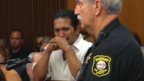 Sandra Cantu's father addresses the court