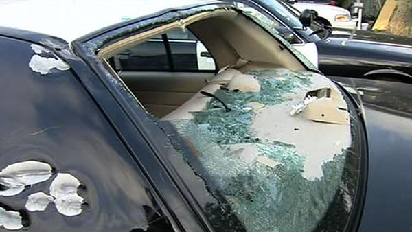 CHP shows damaged cars in shootout