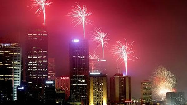 Millions gathering worldwide to ring in new year