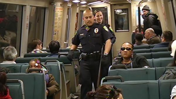 TSA provides money for more BART patrols