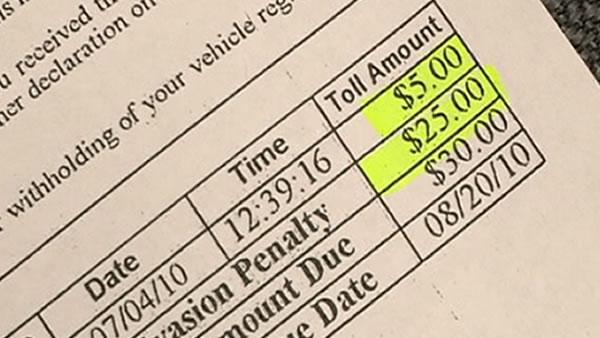 FasTrak mistakenly bills Bay Area motorist