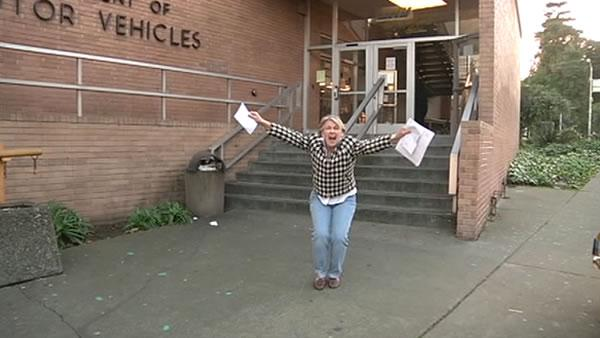 Database error temporarily costs woman her license