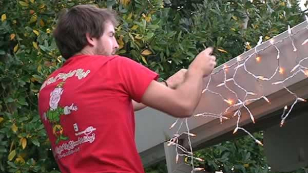 Hanging holiday lights? Try hiring an installer