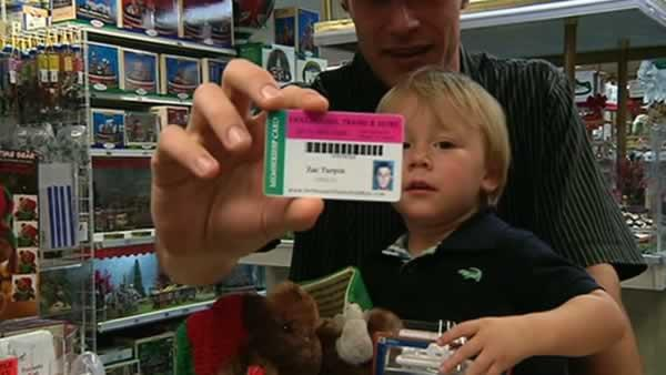 Toy store goes members-only to prevent thefts