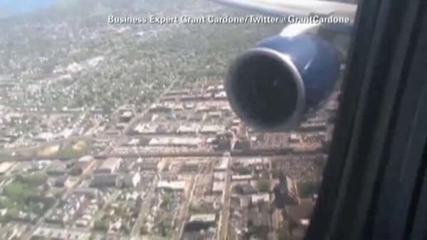 Delta passenger captures bird strike on video