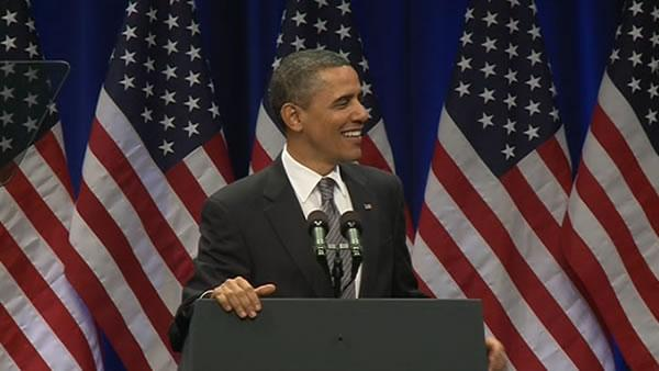 President Obama speaks at the Masonic