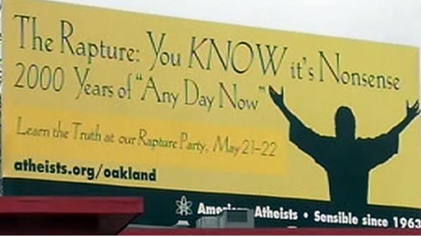Atheists, evangelical group at odds over billboard