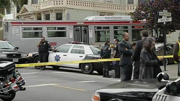 Woman struck and killed by Muni bus
