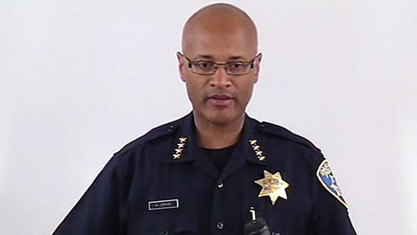 Oakland's interim police chief gives press conference