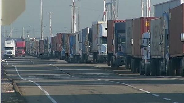 Truckers upset over Occupy march